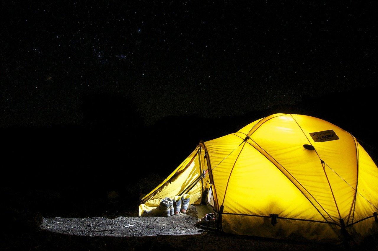 Ontspannen op de camping